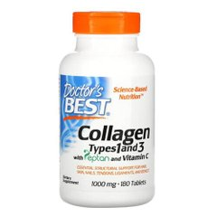 Doctor's Best Collagen Types 1 and 3 180 таб