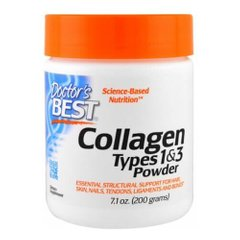 Doctor's Best Collagen Types 1 и 3 200 грамм