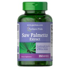 Puritan's Pride Saw Palmetto Extract 180 капсул