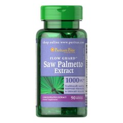 Puritan's Pride Saw Palmetto Extract 90 капсул