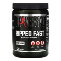 Universal Ripped Fast 120 капсул