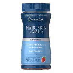 Puritan's Pride Hair, Skin Nails 80 gummies