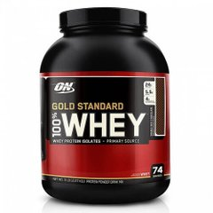 ON 100% Whey Gold Standard 2273 грам, Полуниця