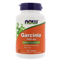 NOW Garcinia Cambogia 1000 mg 120 таб