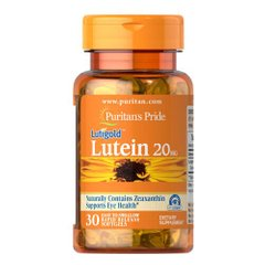 Puritan's Pride Lutein 20 mg with Zeaxanthin 30 капсул