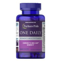 Puritan's Pride One Daily Women's Multivitamin 100 таб.