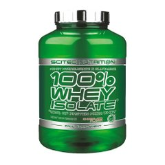 Scitec 100% Whey Isolate 2000 грамм, Банан