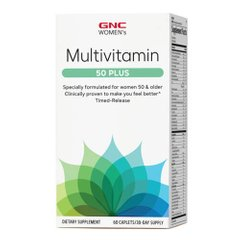 GNC Women's Multivitamin 50 Plus 60 табл