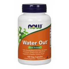NOW Water Out 100 капсул