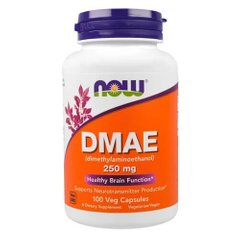 NOW DMAE 250 mg 100 капс