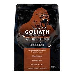 Syntrax Goliath Protein Gainer 5440 грам, Шоколад