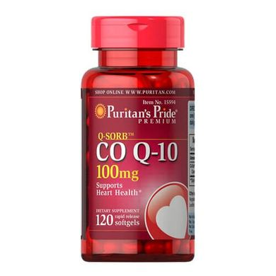 Puritan's Pride Co Q-10 100 mg 120 капсул