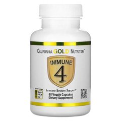 California Gold Nutrition Immune 4 60 капсул