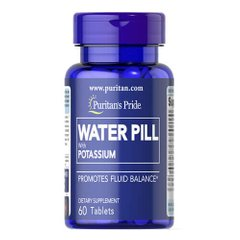 Puritan's Pride Water Pill with Potassium 60 таб