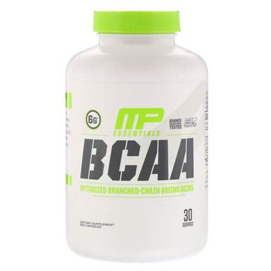 MusclePharm Essentials BCAA 240 капсул