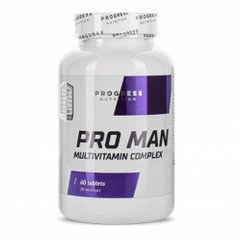 Progress Nutrition Pro Man 60 таб