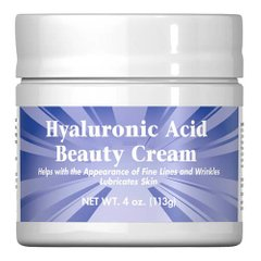 Puritan's Pride Hyaluronic Acid Cream 113 грамм