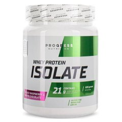 Progress Nutrition Whey Protein Isolate 500 грамм, Клубника