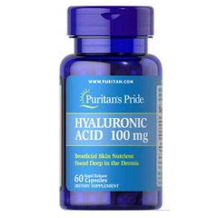 Puritan's Pride Hyaluronic Acid 100 mg 60 капсул