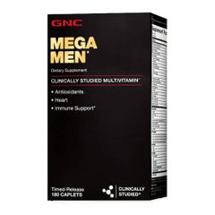 GNC Mega Men 180 капсул