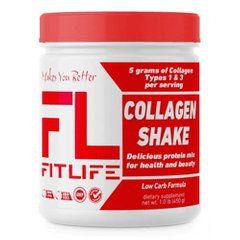 FitLife Collagen Shake 450 грамм, Ваниль
