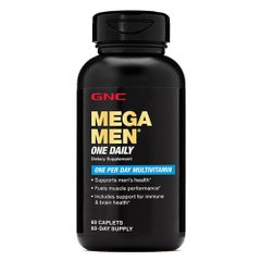 GNC Mega Men One Daily 60 таб