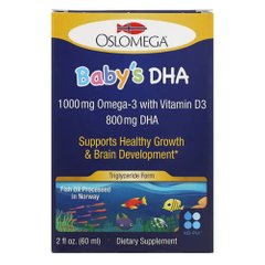 Oslomega Baby's DHA with Vitamin D3 60 мл