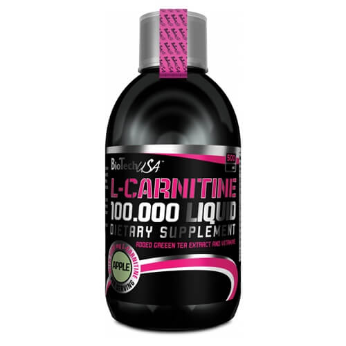 Biotech USA L-Carnitine 100 000 Liquid 500 мл, Вишня