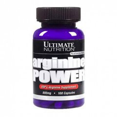 Ultimate Nutrition Arginine Power 100 капсул
