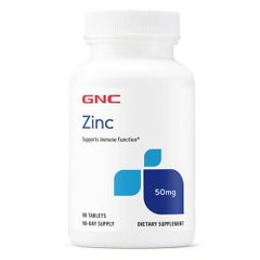 GNC Zinc Citrate 50 mg 90 таб