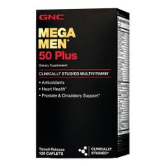 GNC Mega Men 50 Plus 60 таб