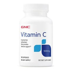 GNC Vitamin C 500mg 90 капсул