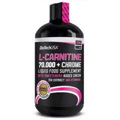 L-Carnitine Liquid 70 000 + Chrome 500 мл, Апельсин