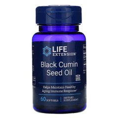 Life Extension Black Cumin Seed Oil 60 жидких капсул