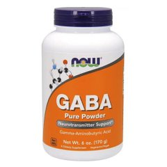 NOW GABA Pure Powder 170 g