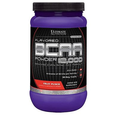 BCAA 12000 Powder 457 грамм, Виноград
