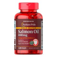 Puritan's Pride Omega-3 Salmon Oil 1000 mg 120 капсул
