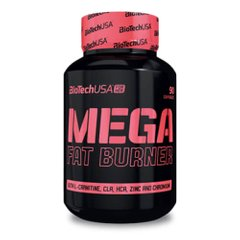 BioTech USA Mega Fat Burner 90 таб