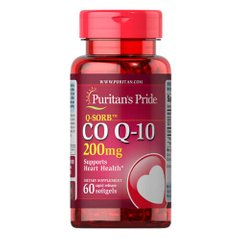 Puritan's Pride Co Q-10 200 mg 60 капс