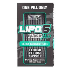 Lipo 6 Black Hers Ultra Concentrate 60 капсул