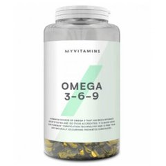 Myprotein Omega 3-6-9 120 капсул