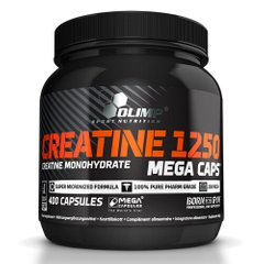 Olimp Creatine Mega Caps 1250 400 капсул