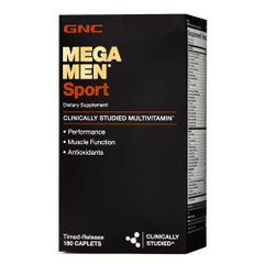 GNC Mega Men Sport 180 таб