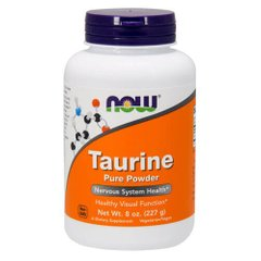 NOW Taurine Pure Powder 227 грамм