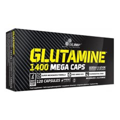 Olimp Glutamine Mega Caps 120 капсул