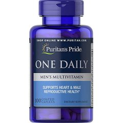 Puritan's Pride  One Daily Men's Multivitamin 100 таб
