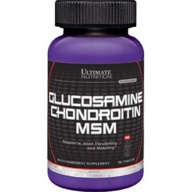 Ultimate Glucosamine & Chondroitin MSM 90 таб