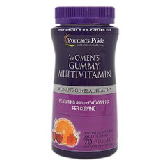 Puritan's Pride Women's Gummy Multivitamin 70 gummies