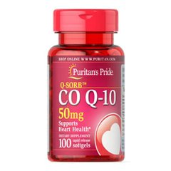 Puritan's Pride Q-SORB Co Q-10 50 mg 100 капс