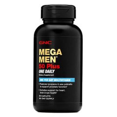 GNC Mega Men One Daily 50 plus 60 таб